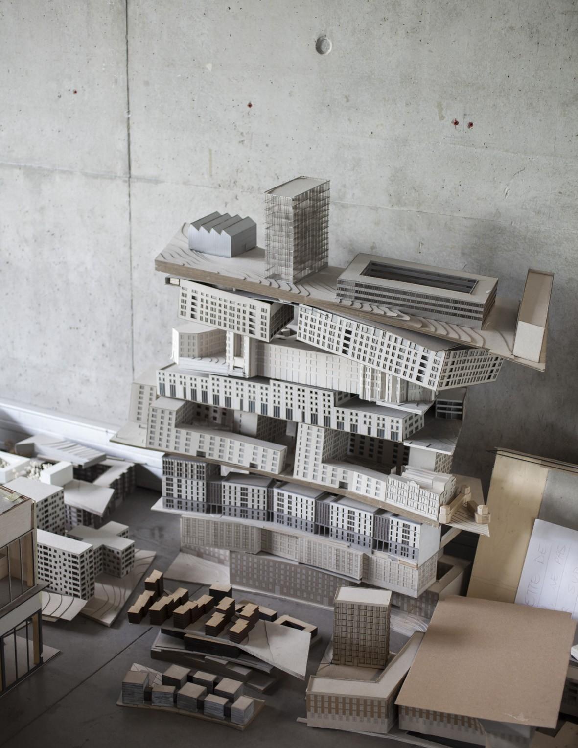École d'architecture de la ville & des territoires à marne-la-vallée